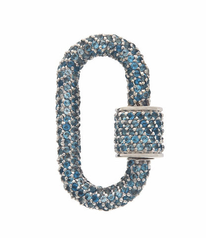 London Blue Topaz All Stone Lock