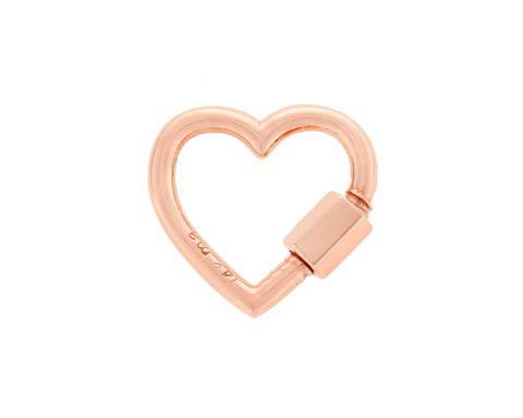 Rose Gold Baby Heartlock