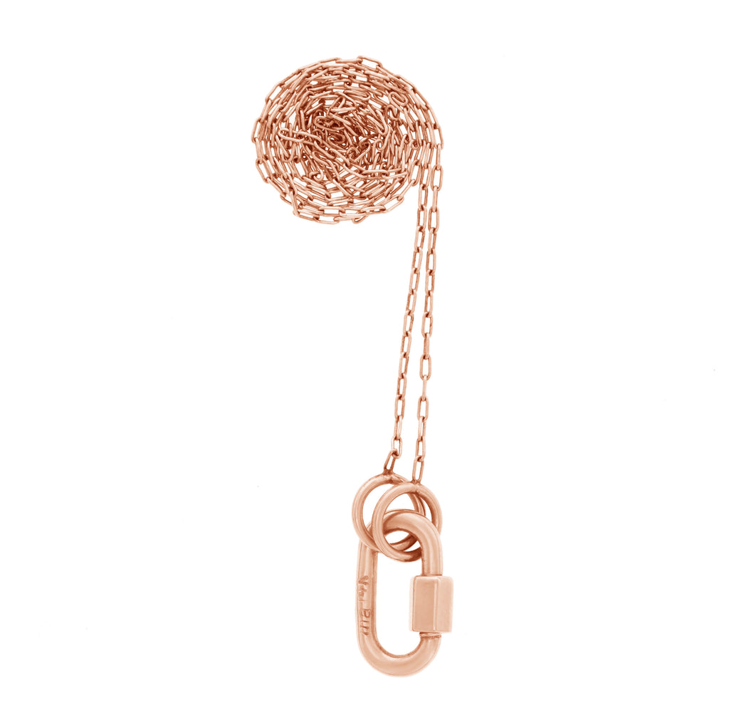 Rose Gold Babylock Necklace