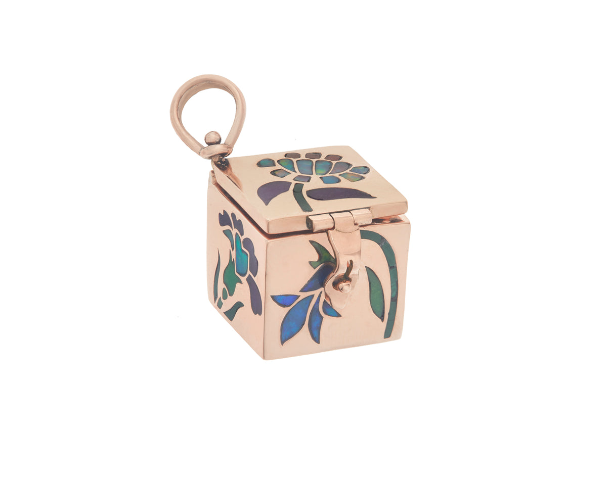 Garden Inlay Charmed Box