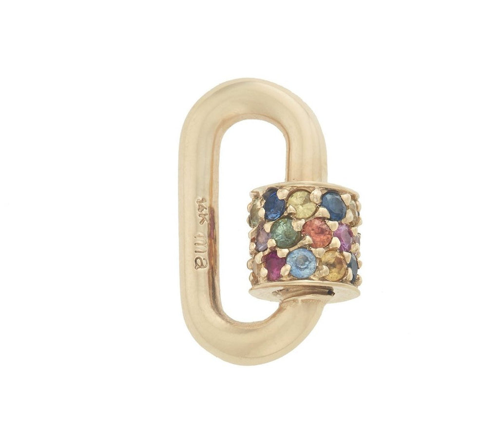 Stoned Chubby Baby Lock with Harlequin Stones