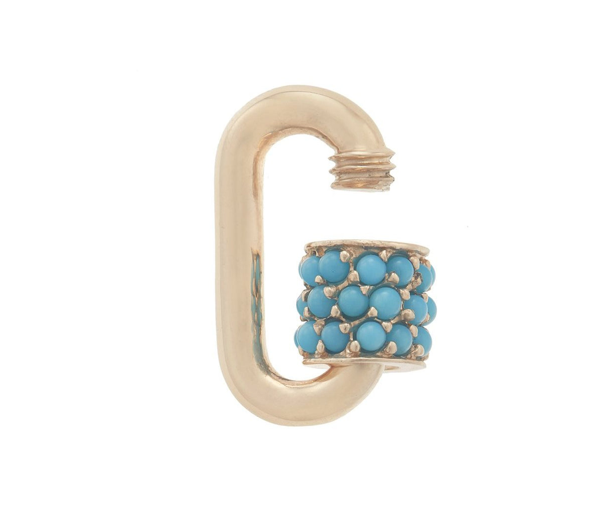 Stoned Chubby Babylock with Turquoise