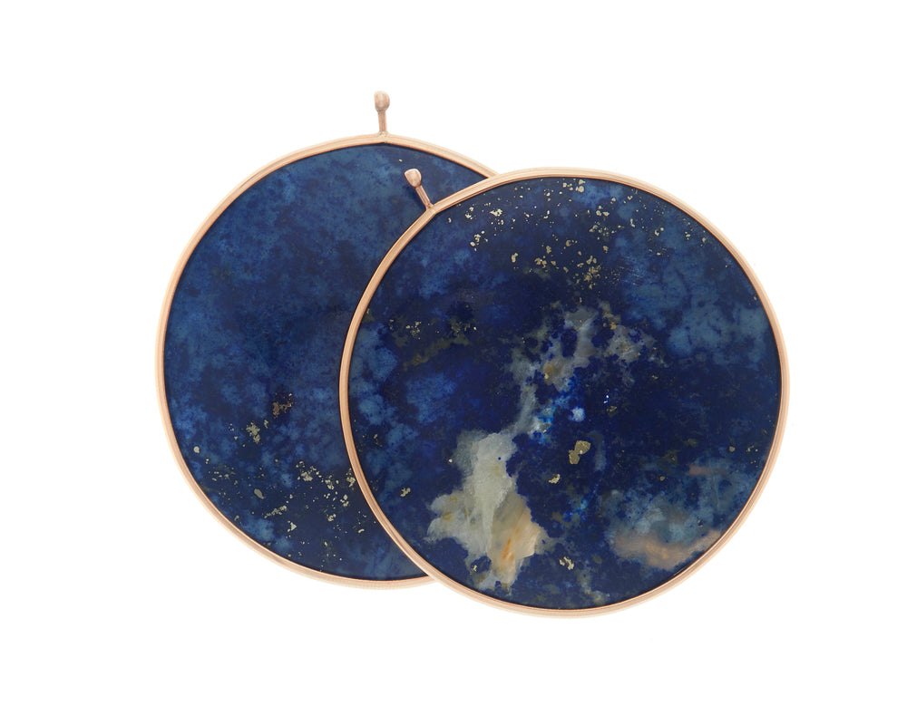 Lapis Disc Pair