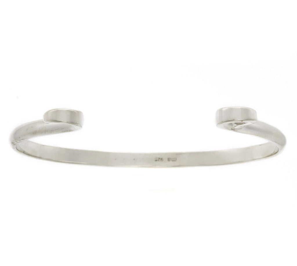 Sterling Silver Hard Hook Bracelet