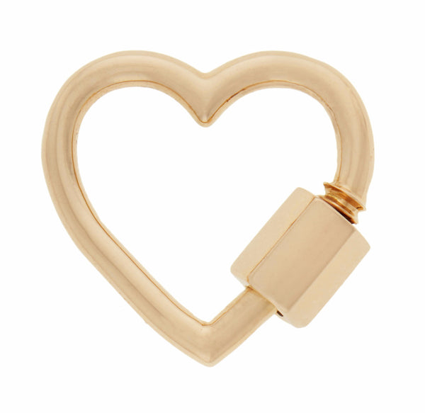 Yellow Gold Heart Lock