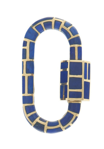 Linda Inlay Lock with Lapis