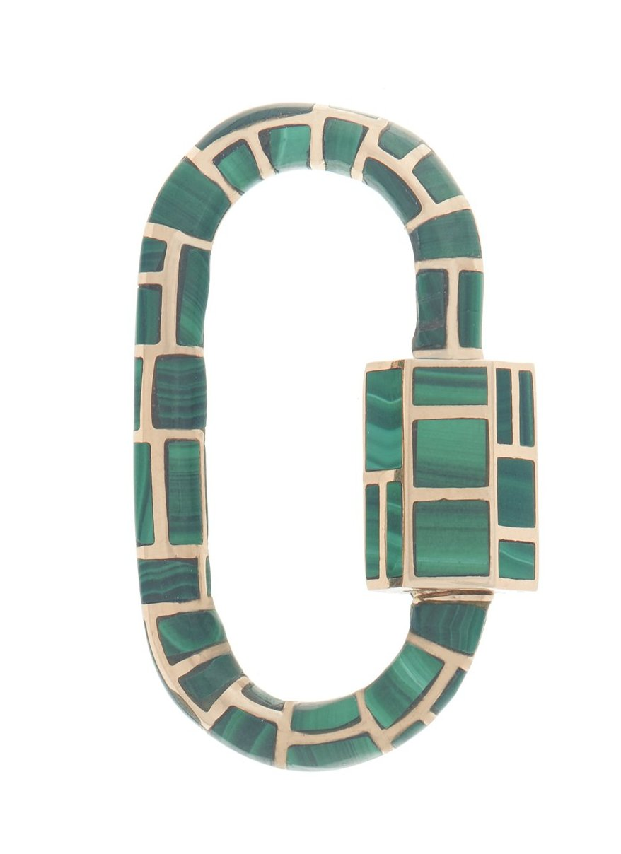 All Inlay Lock with Malachite
