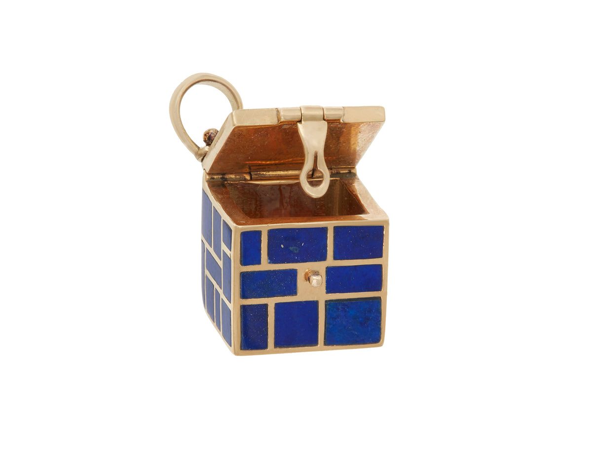 Lapis Inlay Charmed Box