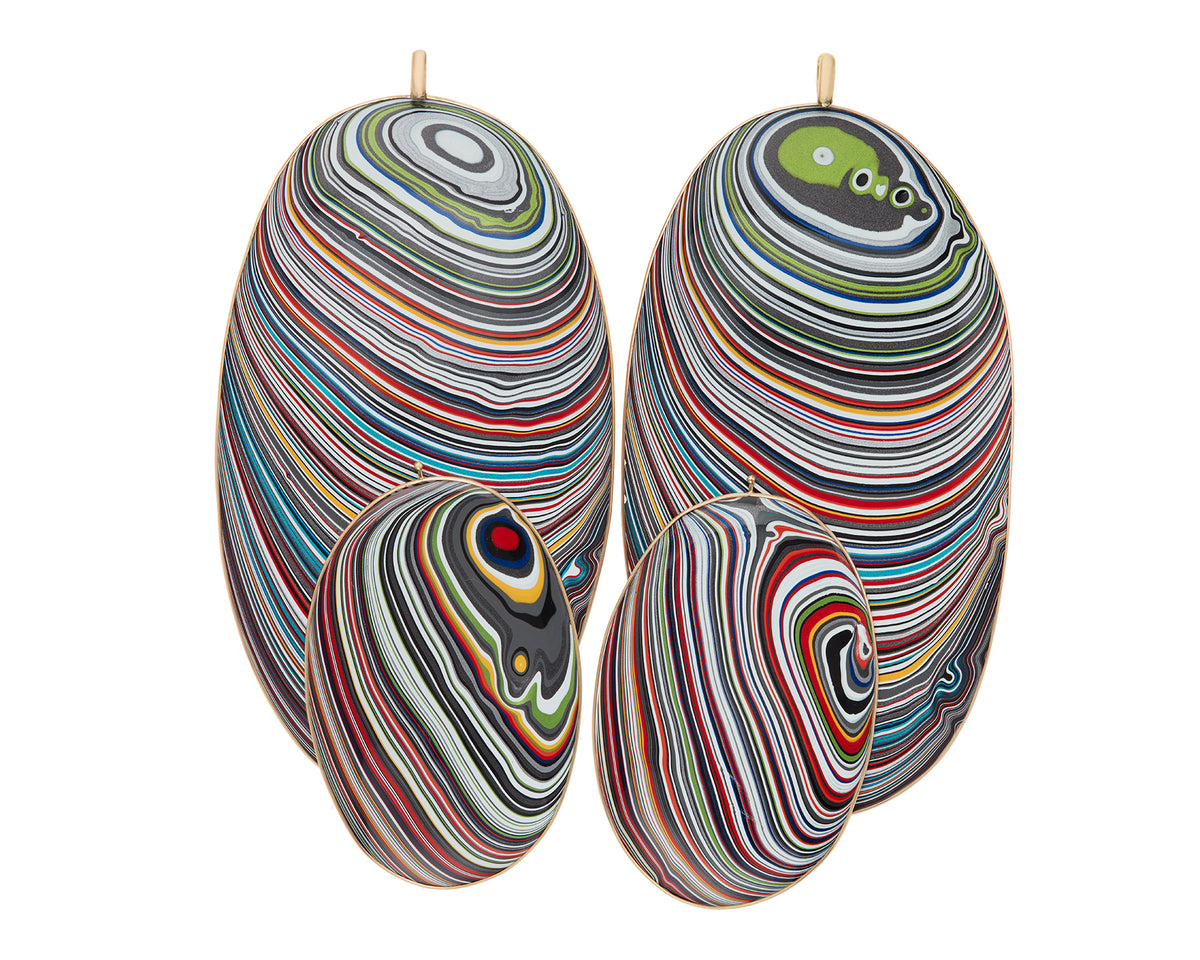 Ridiculous Fordite Discs