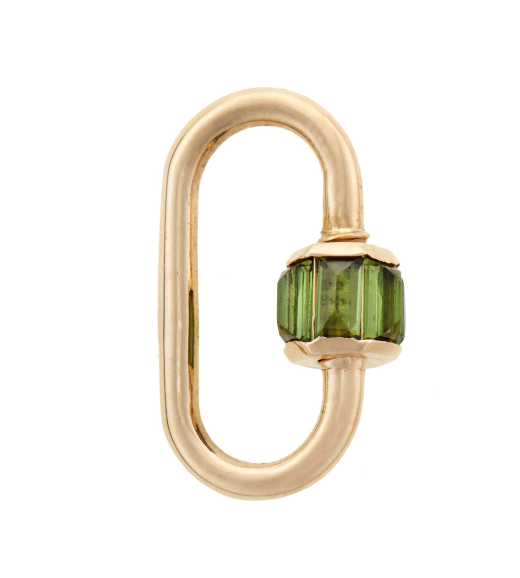Total Medium Baguette Lock in with Green Tourmaline