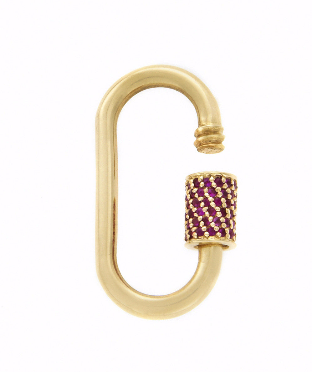 Stoned Medium Lock with Ruby