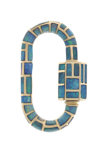 Linda Inlay Lock with Opals