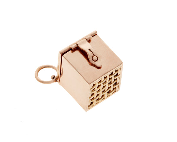Vinaigrette Charmed Box in Rose Gold