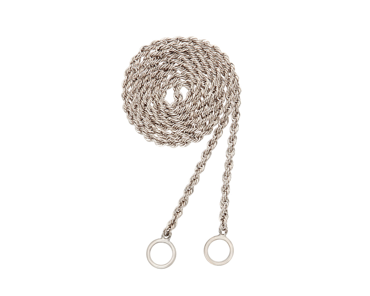 Platinum Rope Chain