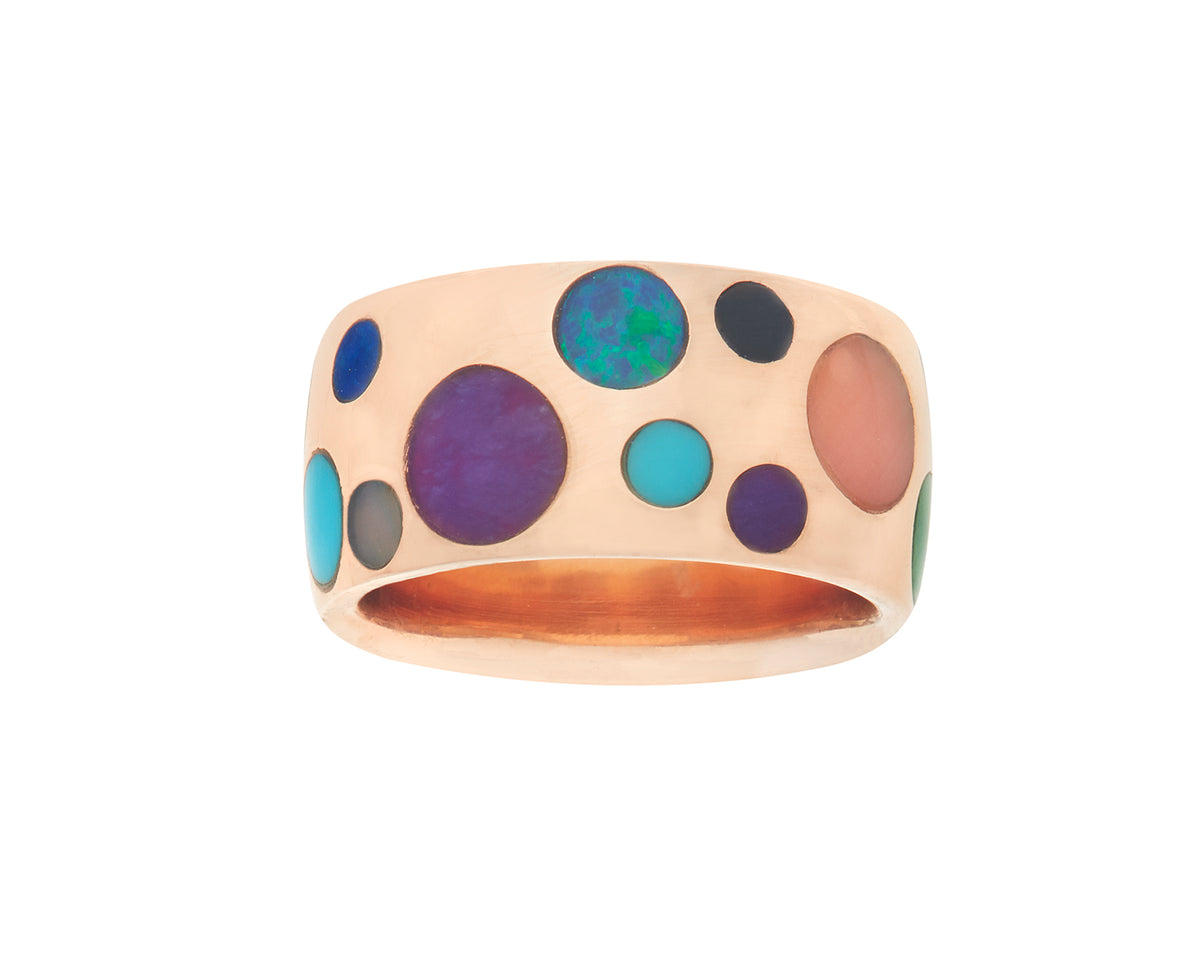 Polkadot Inlay Ring