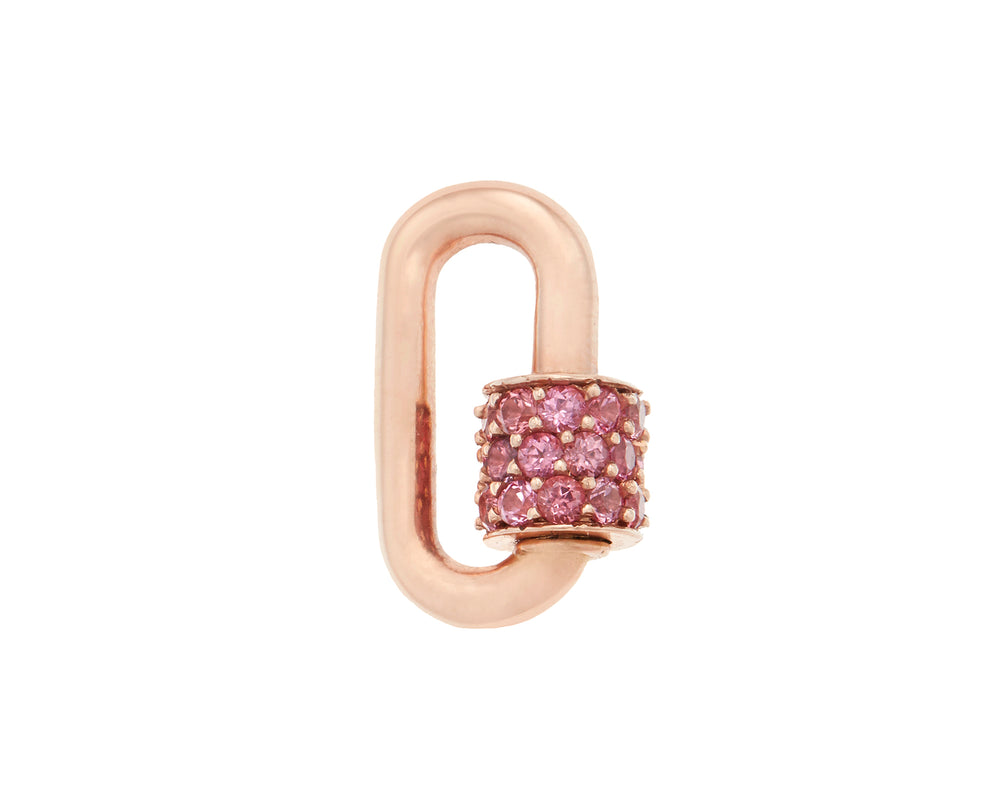Stoned Chubby Babylock with Pink Spinel