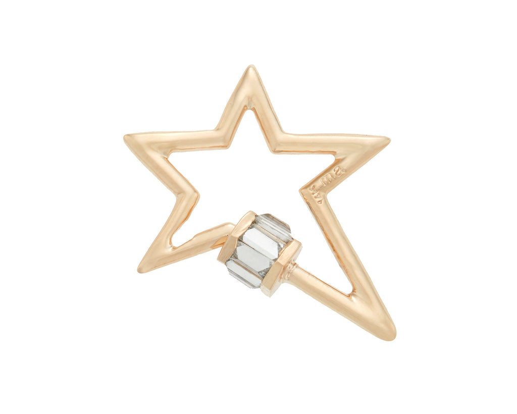 Total Baguette Starlock with Diamonds