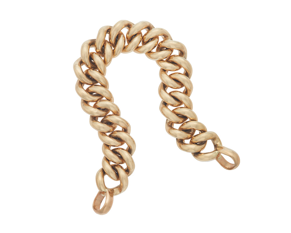 Mega Curb Chain in Gold
