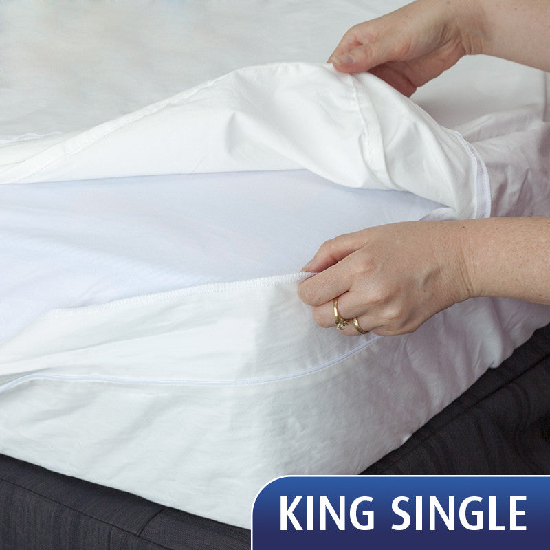 SPECIAL - King Single Mattress Cover + Pillow + Pillow Cover. SAVE $52!