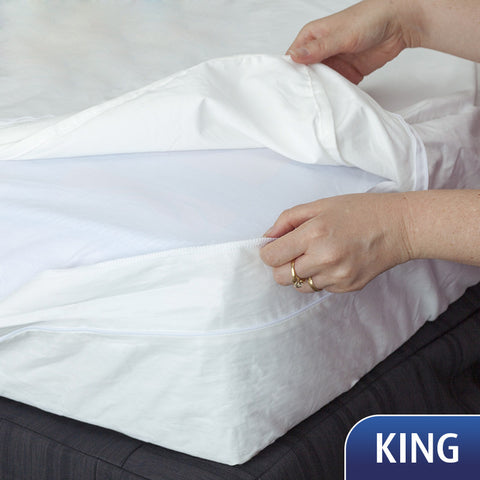 Mattress Cover - King- SECOND - a few very small marks, pre-washed. Save $70!