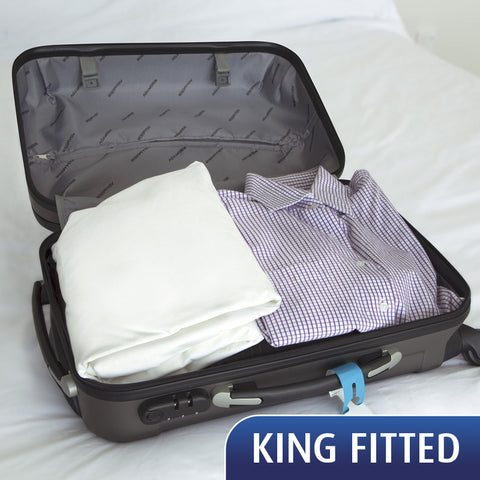 SPECIAL - Travel Sheet - King Fitted Sheet - 20% Off for a limited time