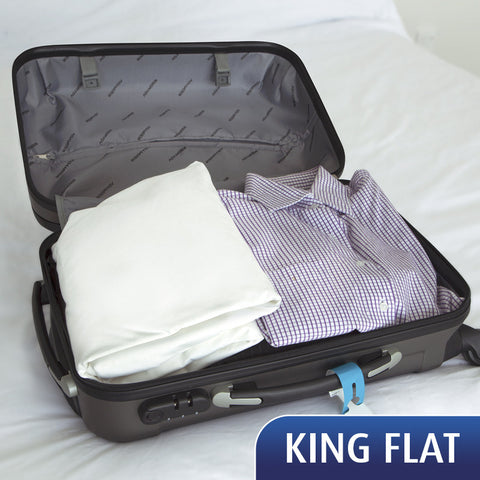 Travel Sheet - King Flat Sheet - **On back order -available February**