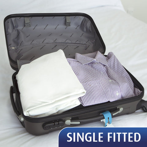 SPECIAL - Travel Sheet - Single Fitted Sheet - 20% Off for a limited time