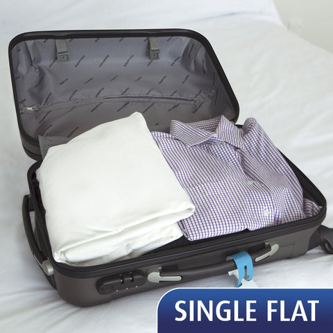 Travel Sheet - Single Flat Sheet-  On Back order - ETA February