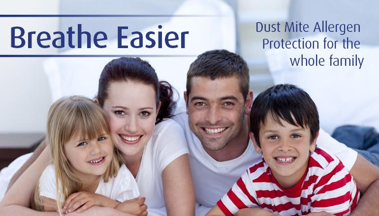 Dust Mite Protection for the whole family