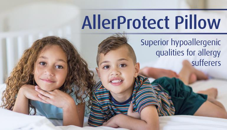 Hypoallergenic-washable pillow - for Dust Mite Allergy sufferers