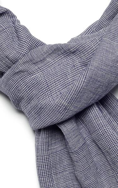 Indigo Handloom - Glen Plaid – Blue