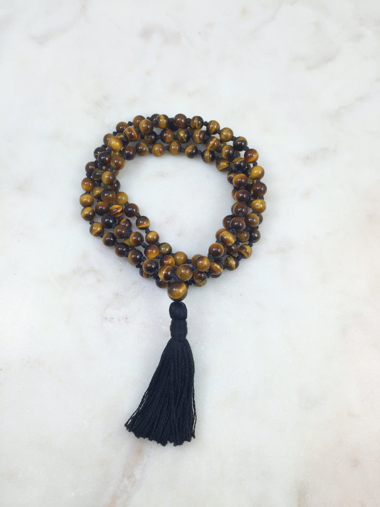 Mini Tigers Eye Mala