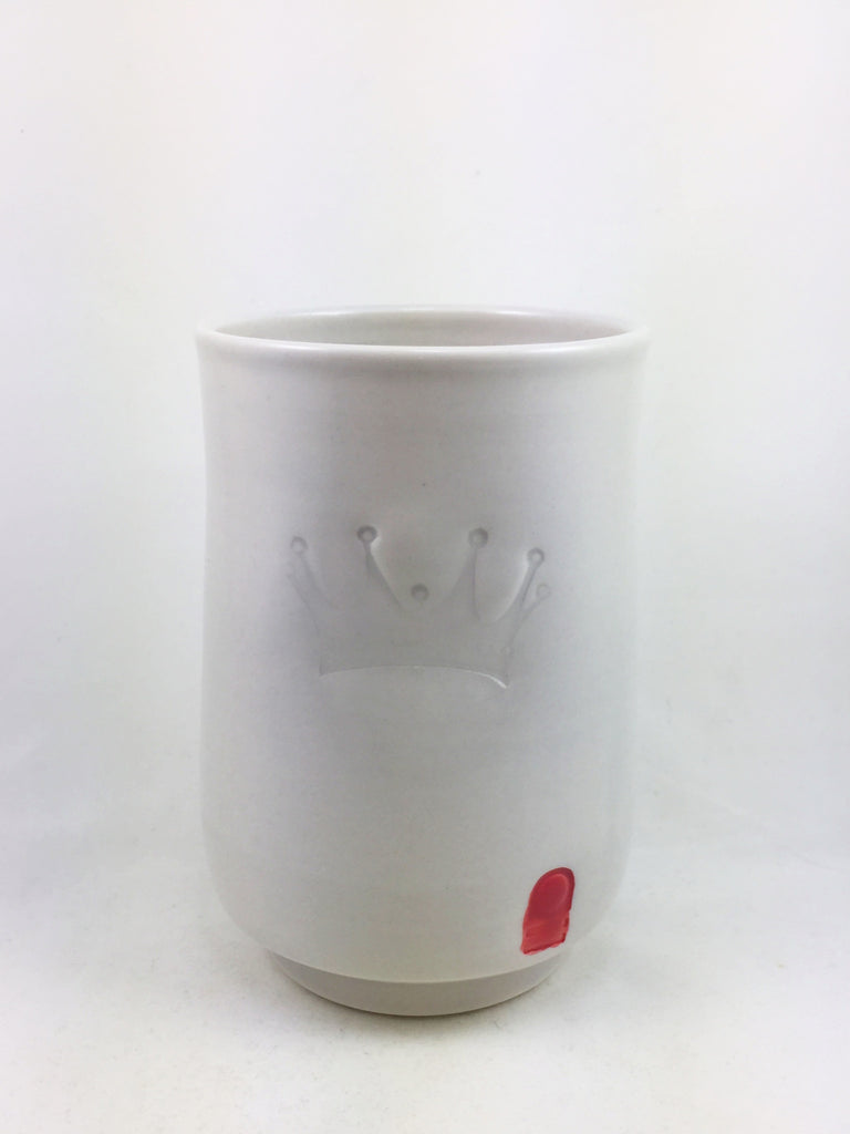 Queen's Crown Porcelain Cup by  Nell Van Vorst