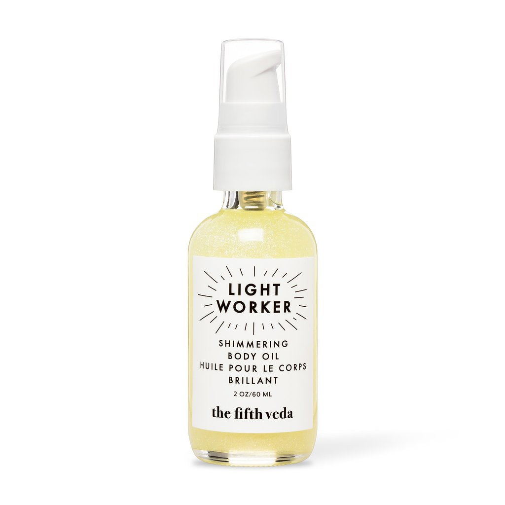 The Fifth Veda - Lightworker | Shimmering Body Oil 2oz