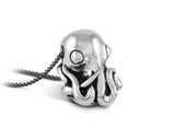 "Octopus in ""antique silver"""