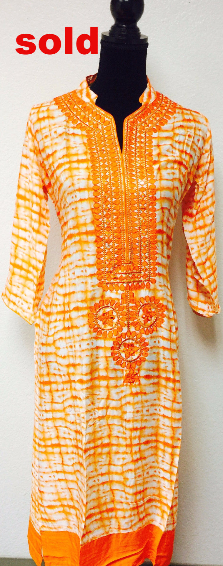 Fdn0161 embroidered kurta