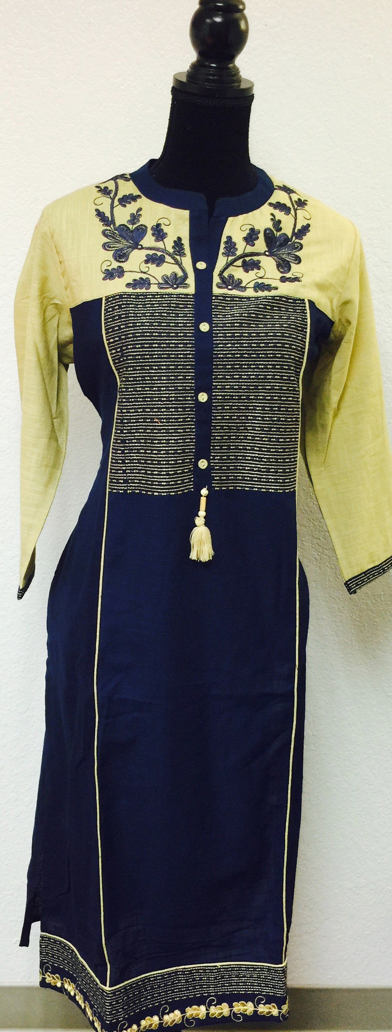 Fdn0140 EMBROIDERED KURTA