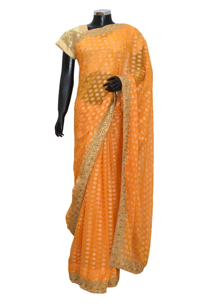 Fancy party wear saree #fdn6048-201