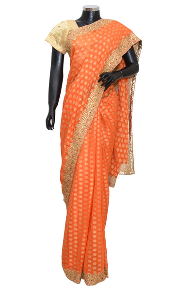 Fancy embroidered saree #fdn6051-201