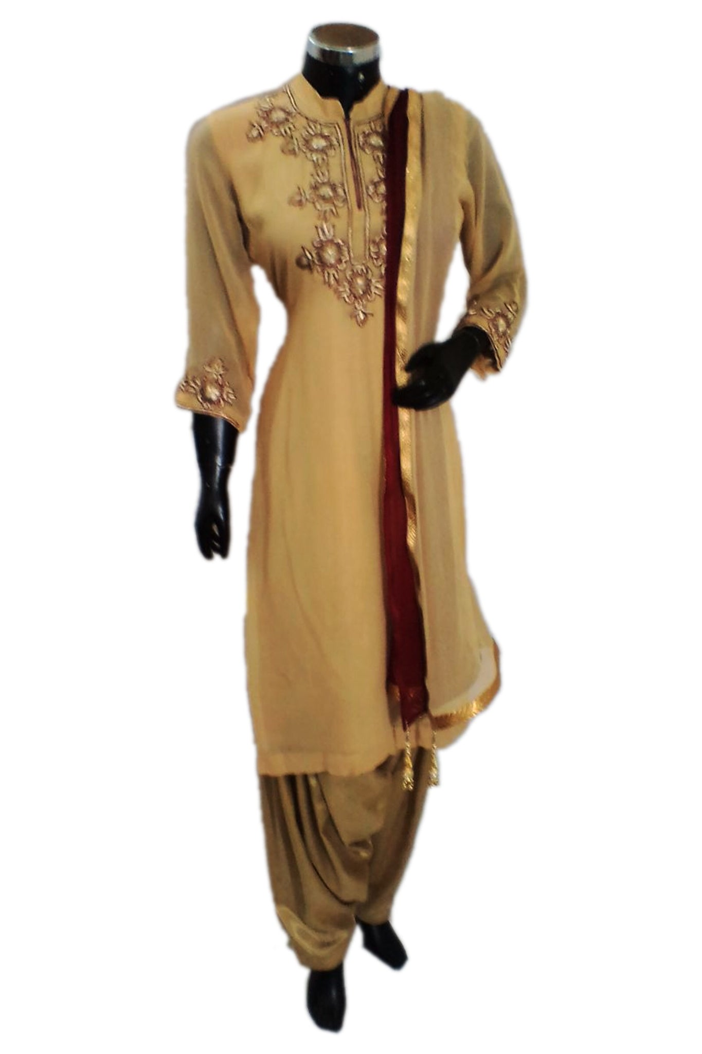 Embroidered patiala salwar set #fdn1317-321