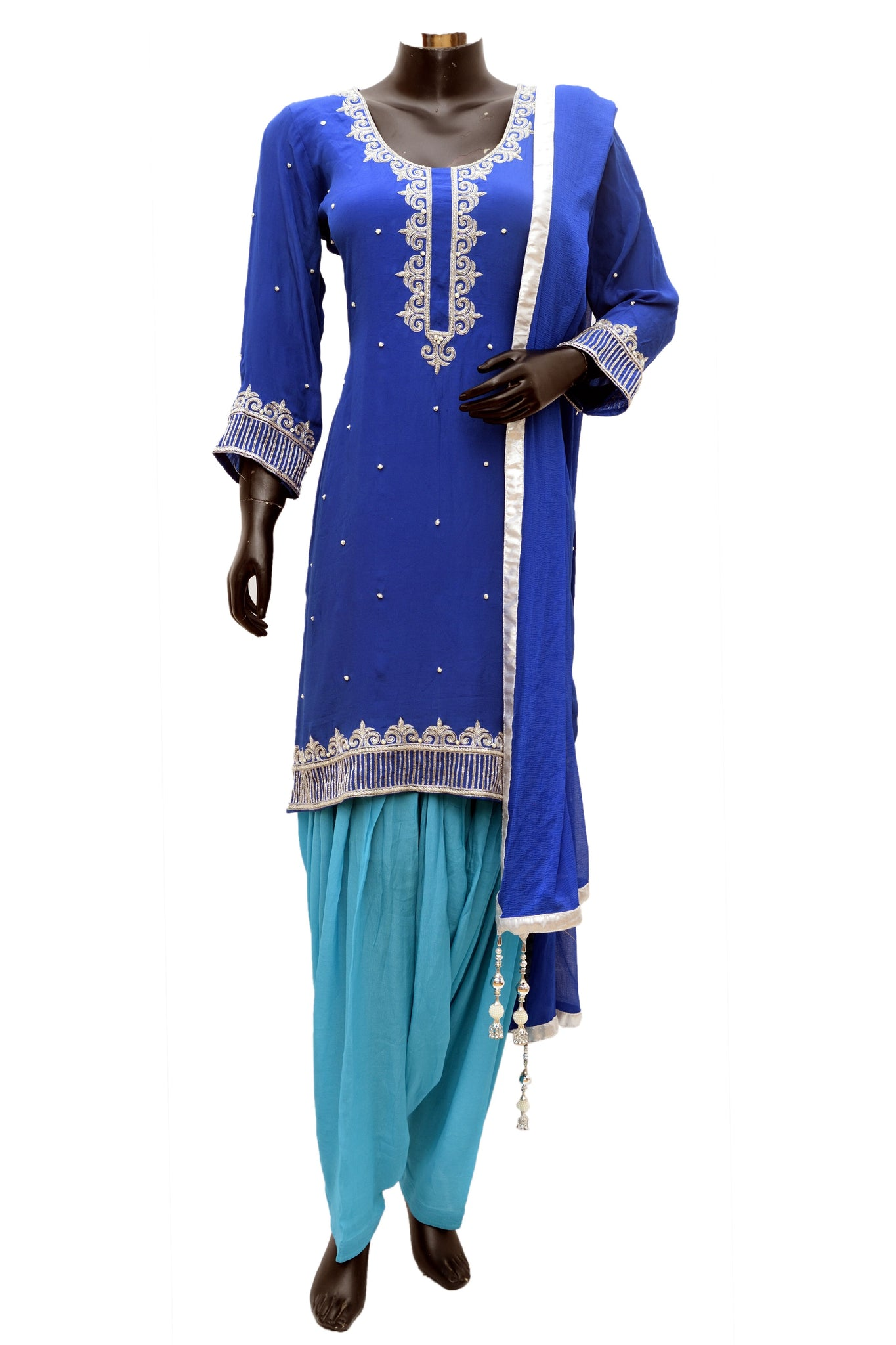 Embroidered patiala sets #fdn807-481