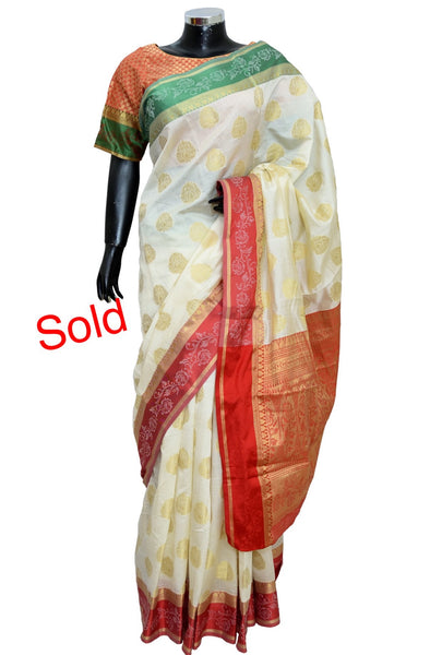 Silk saree #fdn4011-501