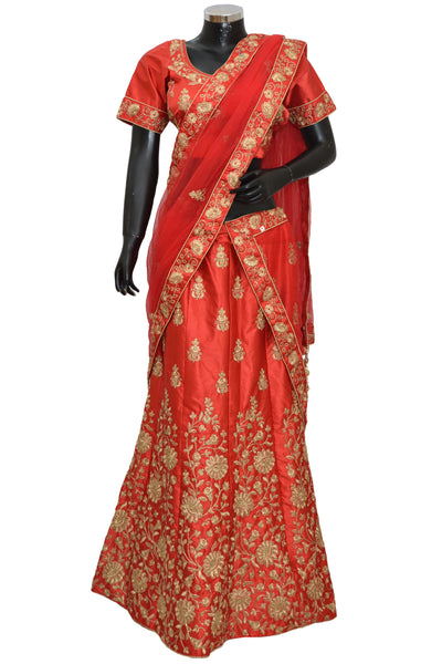 Ethnic embroidered lengha # fdn7072-501