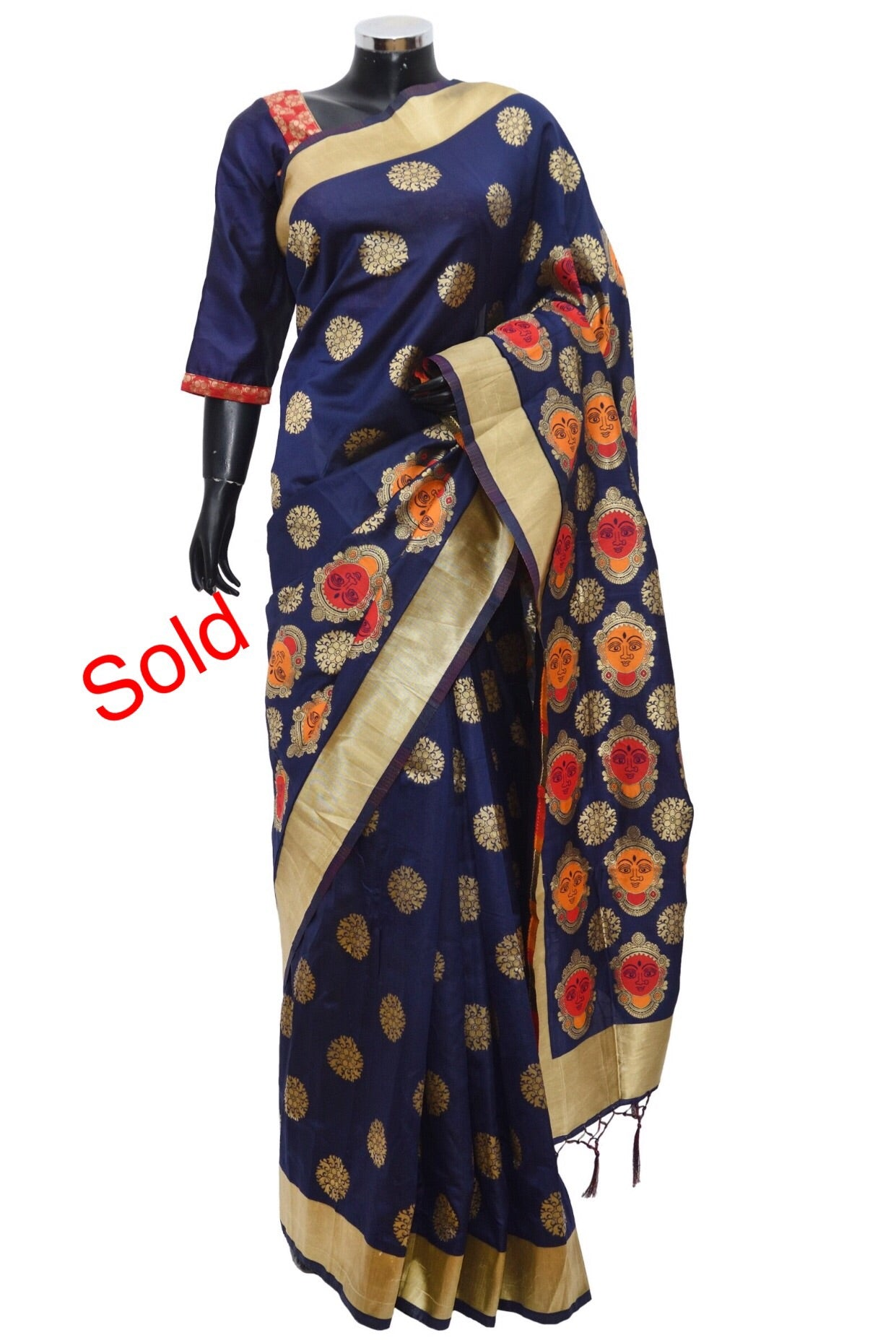 Lovely Banarsi silk saree #fdn1111-481
