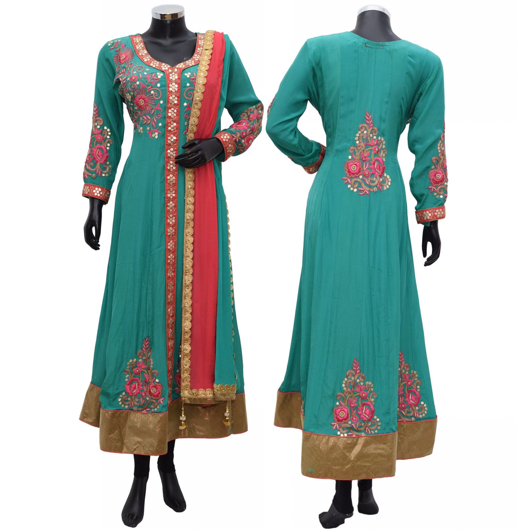 A heavy embroidered suit #fdn697-871