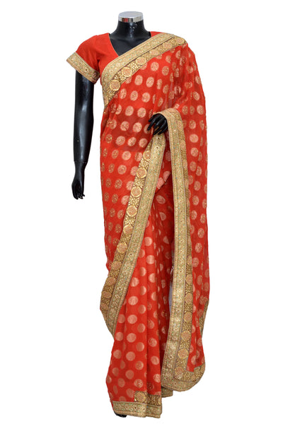 Fancy party wear Saree # fdn8054-501