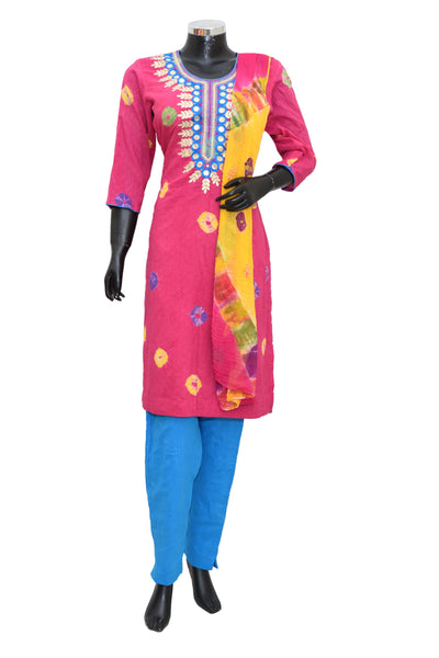 Embroidered suit set #fdn4065-201