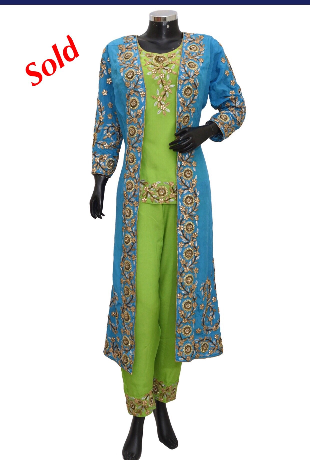 Embroidered jacket dress Fdn1353-1171