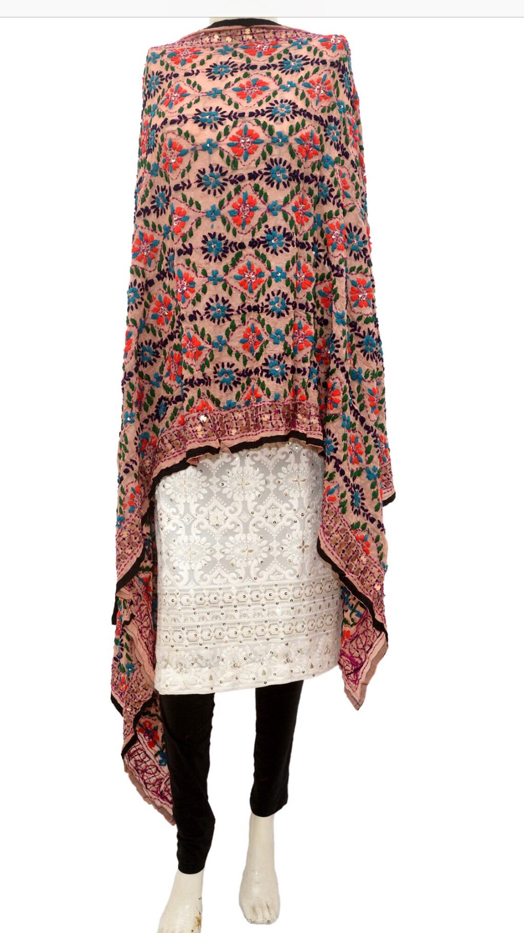 Embroidered dupatta #fdn915-141