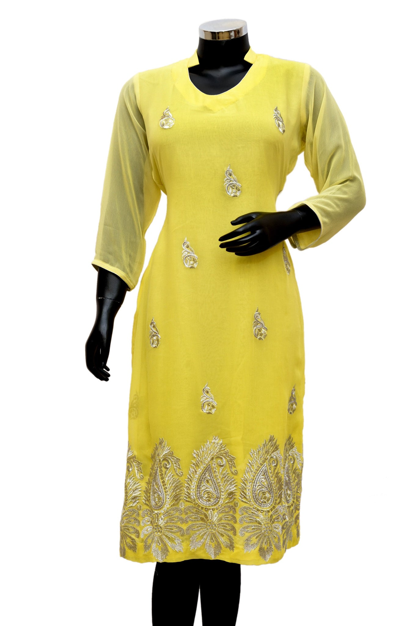 Embroidered kurta fdn0513